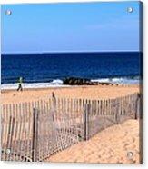 Rehoboth Beach Panorama Acrylic Print
