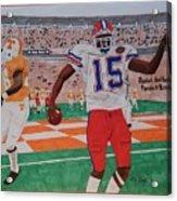 Florida - Tennessee Football Acrylic Print