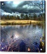 Reifel In Winter 5 Acrylic Print