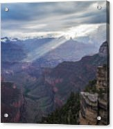 Reign Of Light Over The Canyon Acrylic Print