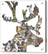 Reindeer Games Acrylic Print by Tyler Auman