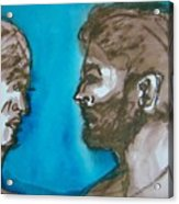 Relationship Bully Acrylic Print