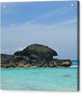 Relax At Horseshoe Bay Bermuda Acrylic Print