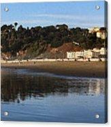 Relaxing At Ocean Beach San Francisco Acrylic Print