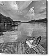 Relaxing On The Dock Acrylic Print