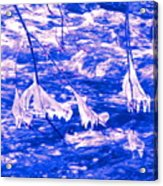 Ice Bats Acrylic Print