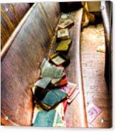 Religion Abandonded Acrylic Print