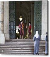 Religious Visit Acrylic Print