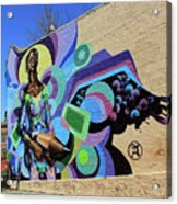 Reloaded Or Education Is A Powerful Weapon Mural -- 2 Acrylic Print