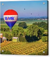 Remax Hot Air Balloon Ride Acrylic Print