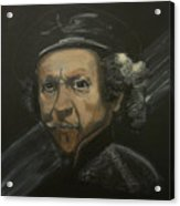 Rembrandt And Colour Acrylic Print