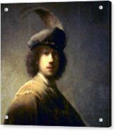 Rembrandt Van Rijn Acrylic Print