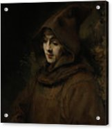 Rembrandt's Son Titus In A Monk's Habit Acrylic Print