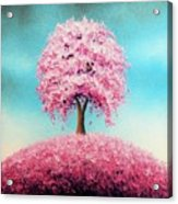 Remember The Bloom Acrylic Print