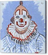 Remembering Clarabelle The Clown Acrylic Print