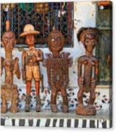 Remembering Mombasa Acrylic Print by Irene Abdou