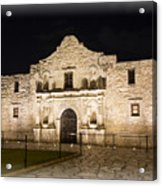 Remembering The Alamo Acrylic Print