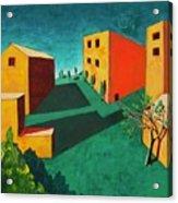 Remembering The Villa Acrylic Print