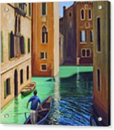 Remembering Venice Acrylic Print
