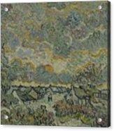 Reminiscence Of Brabant Saint Remy De Provence March - April 1890 Vincent Van Gogh 1853  1890 Acrylic Print