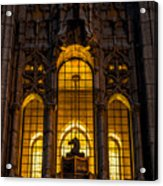 Remsen Building Window, Nyc Acrylic Print