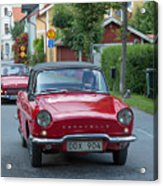 Renault Caravelle Acrylic Print