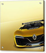 Renault Sport Spider 4k Acrylic Print