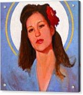 Renee 1940 Acrylic Print
