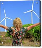 Renewable Energy Concept Acrylic Print