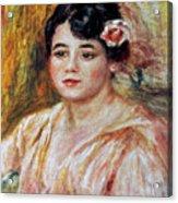 Renoir: Adele Besson, 1918 Acrylic Print