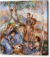 Renoir: Grape Pickers Acrylic Print