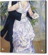 Renoir: Town Dance, 1883 Acrylic Print