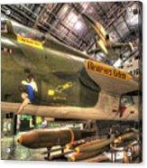 Republic F-105 Thunderchief Acrylic Print