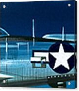 Republic P-47n Thunderbolt Acrylic Print