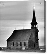 Requiem For An Old Church  Acrylic Print