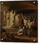 Rescue Captives In Times Of Carlos IIi Inglada Aparicio And Jose Acrylic Print