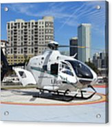 Rescue Helocopter Acrylic Print