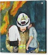 Rescue Acrylic Print