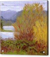 Reservoir Spring Acrylic Print