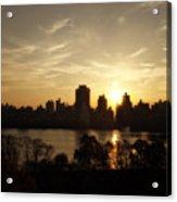 Reservoir Sunrise Acrylic Print