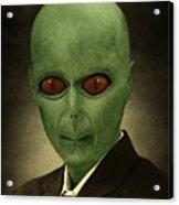 Resident Professor Of Interplanetary Research Area 51 Acrylic Print