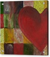 Resilience After Jim Dine Acrylic Print