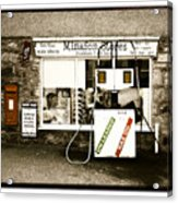 Resist Change - Village Shop Part1 Acrylic Print