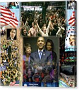 Respectfully Yours..... Mr. President Acrylic Print by Terry Wallace