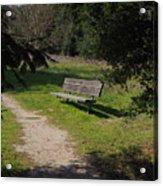 Rest Along The Path Acrylic Print