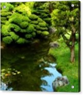Rest By The Pond Acrylic Print