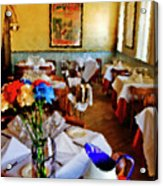 Restaurant In Red Bank 2 Acrylic Print