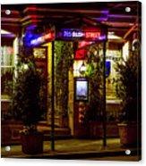 Restaurant Jeanne D'arc Acrylic Print