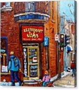 Restaurant John Montreal Acrylic Print