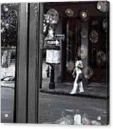 Restaurant Window Acrylic Print